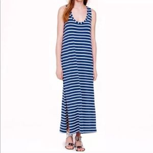 ❗️J. Crew Striped Blue Maxi Sundress MSRP $118!